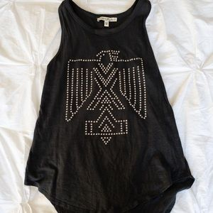 Express studded tribal tank